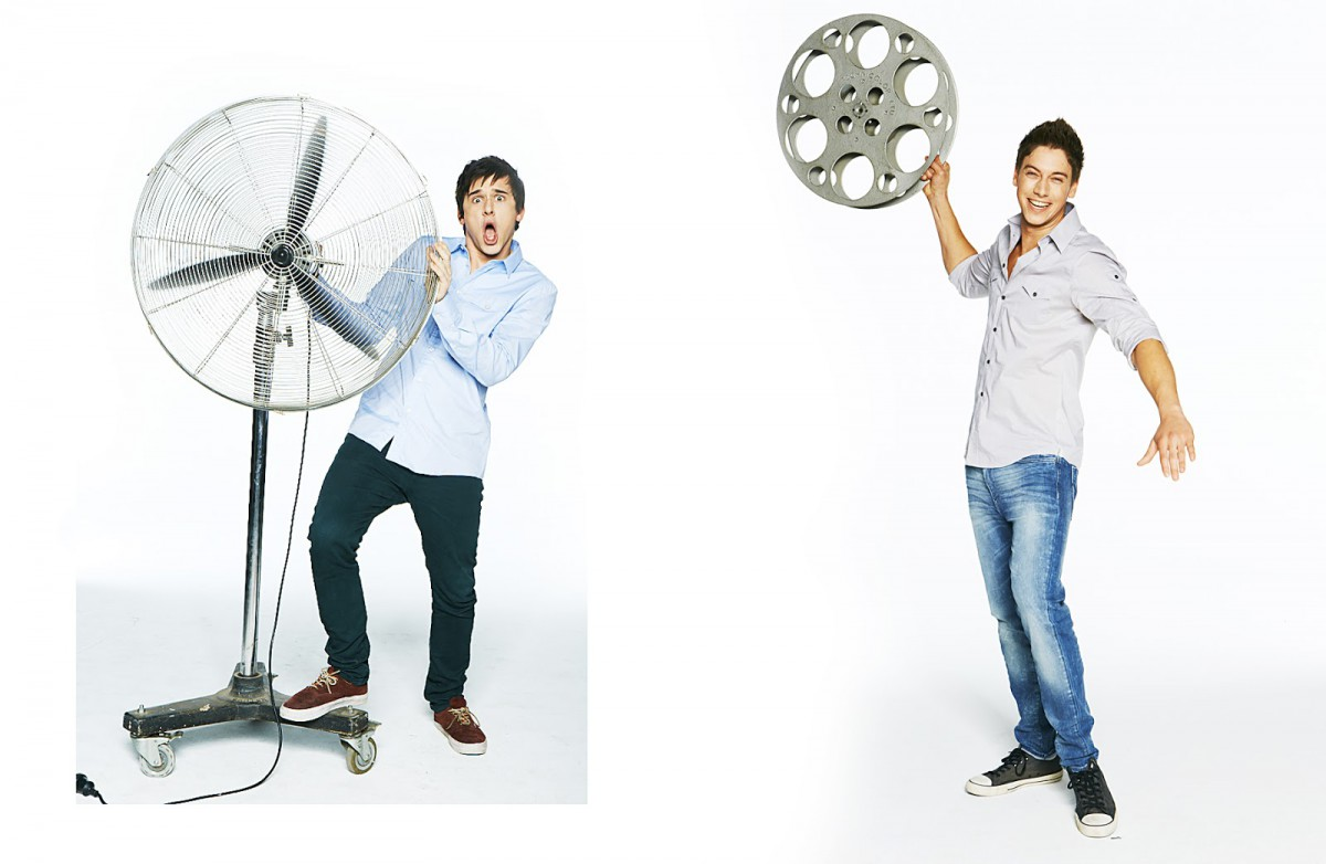 Home and away Cast Photographed by Adam Flipp A