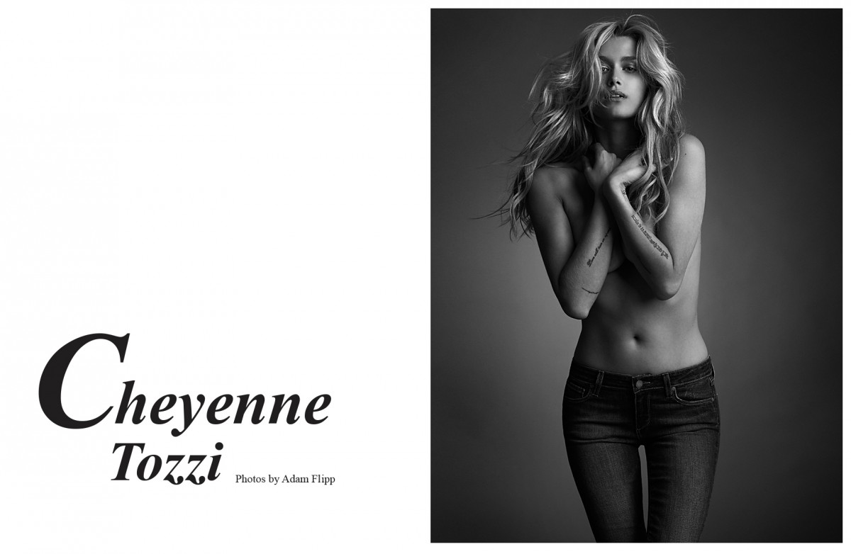 Cheyenne Tozzi Photographed by Adam Flipp-intro